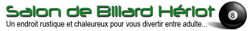 Salon de Billard Hériot