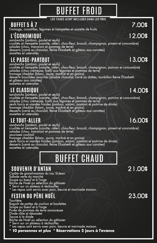 buffet billard heriot