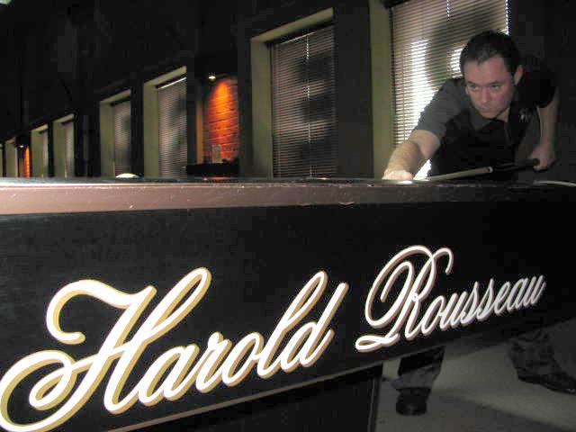 Salon de Billard Hériot - Harold Rousseau